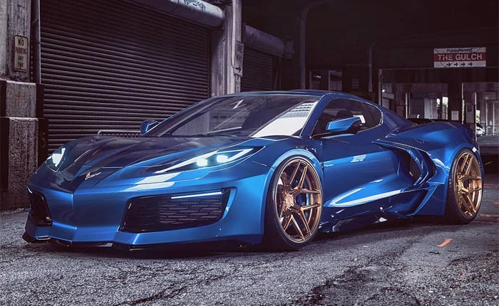 [PICS] Rendered Widebody C8 Corvette Shows Potential of Mid-Engine Layout