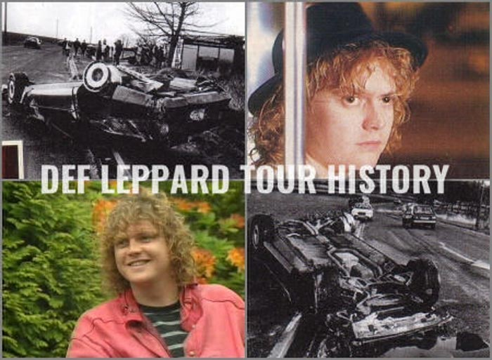 Def Leppard's Rick Allen Corvette Crash