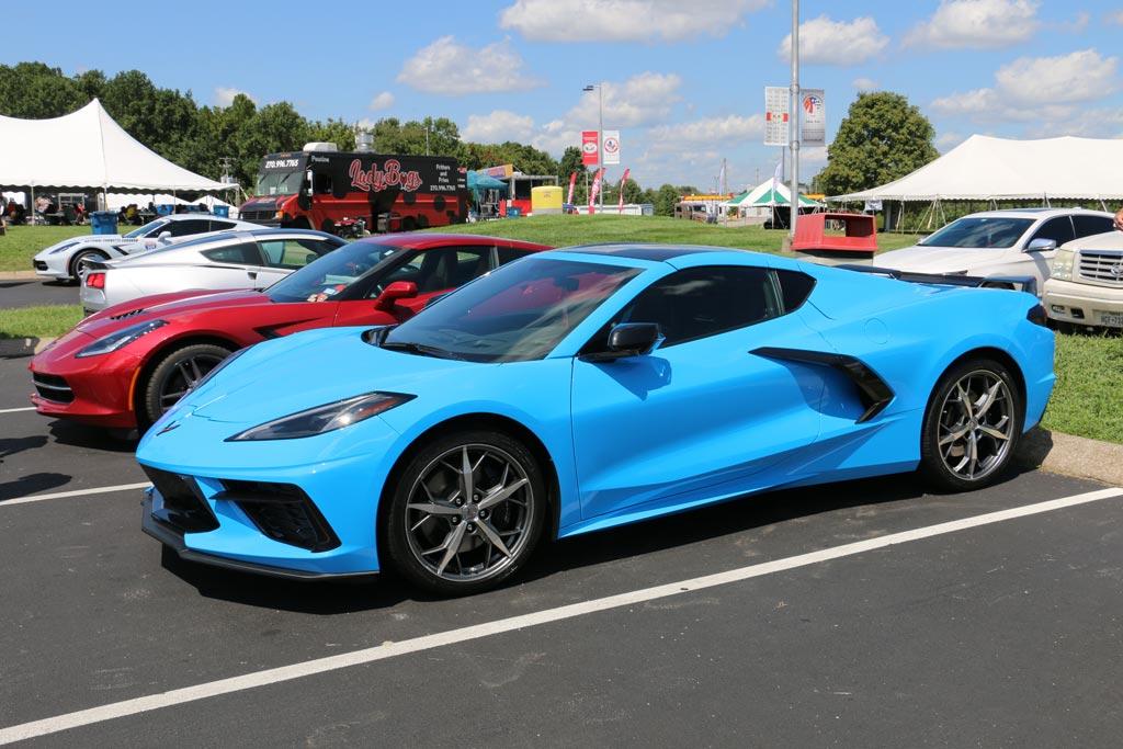 Rapid Blue 2020 Corvette Stingray