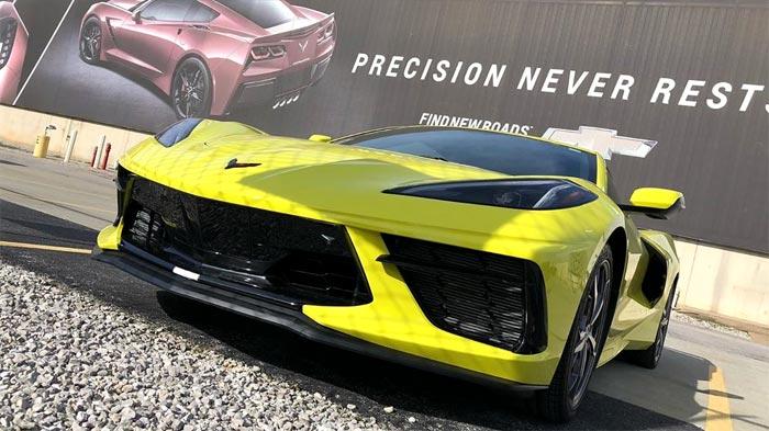 Accelerate Yellow Corvette Stingray