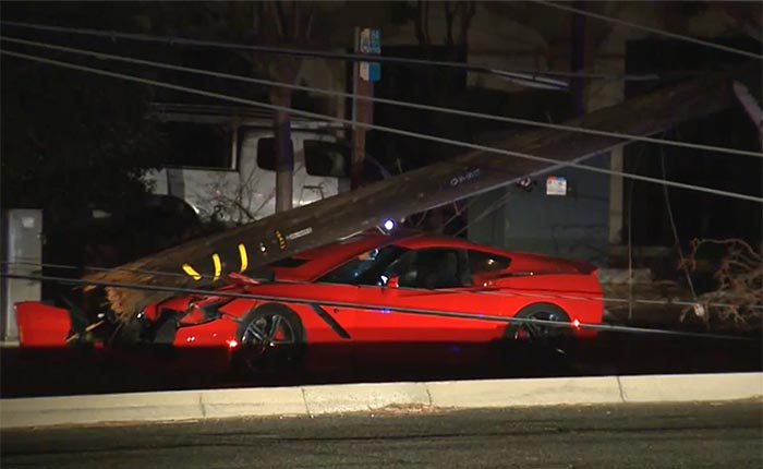 [ACCIDENT] DUI Corvette Driver Knocks Out Power to 10,000 Customers in Sacramento