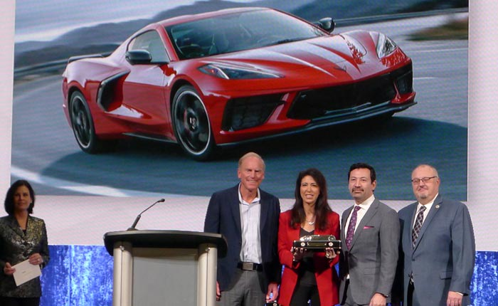 [VIDEO] C8 Corvette Stingray Named 2020 North American Car of the Year