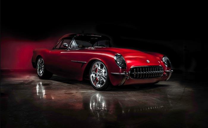 This Custom 1954 Corvette is Ready for the Spotlight at Barrett-Jackson Scottsdale