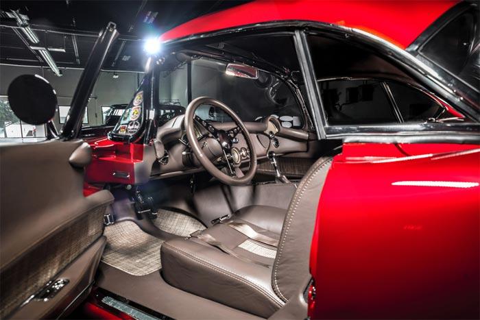 This Custom 1954 Corvette Ready for the Spotlight at Barrett-Jackson Scottsdale