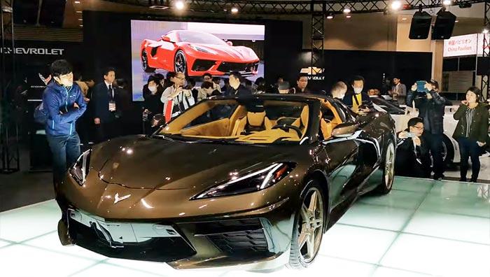 [VIDEO] 2020 Corvette Stingray Makes Debut at the Toyko Auto Salon (Updated)
