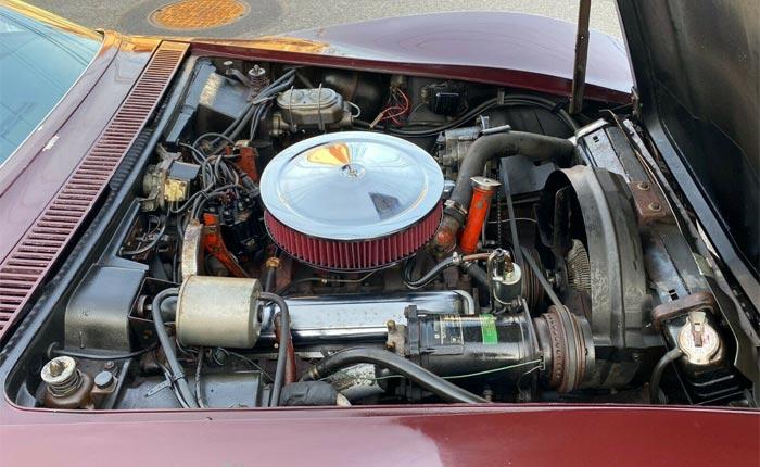 Corvettes on eBay: One-Owner 1968 Corvette Convertible Barn Find