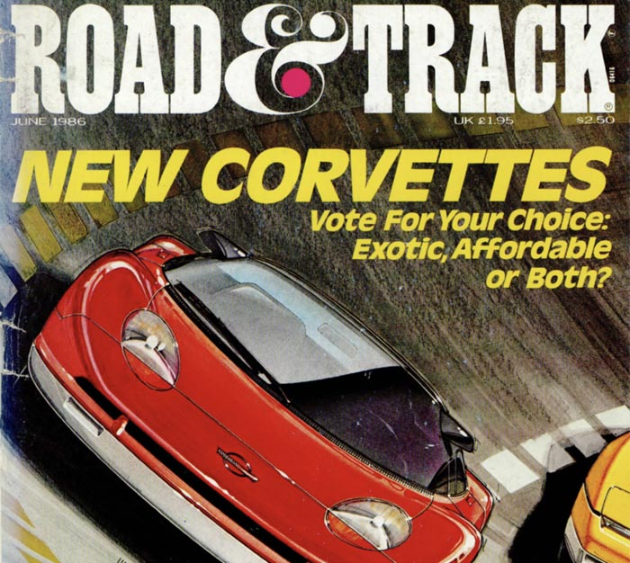 All New Corvette feature from 1986