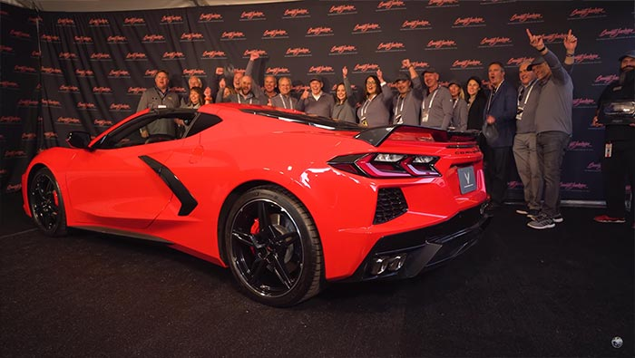 T[VIDEO] Go Behind the Scenes with the VIN 001 2020 Corvette Auction at Barrett-Jackson