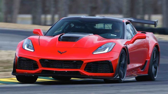 2019 Corvette ZR1 That Ran 7:04 on the Nurburgring Now on Display at the Corvette Museum
