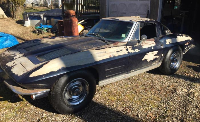 Corvettes for Sale: Matching Numbers 1963 Corvette Split-Window with Factory Air