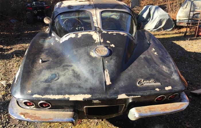 Corvettes for Sale: Matching Numbers 1963 Corvette Split-Window with Factory AC