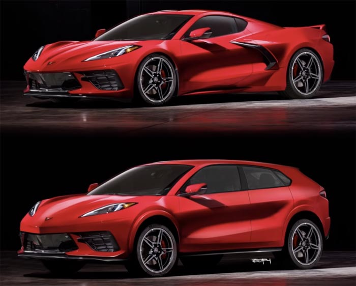 [VIDEO] Designer Turns a 2020 Stingray into a Corvette SUV