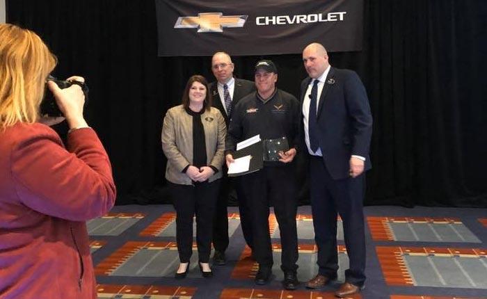 Mike Furman Named the No. 1 Corvette Sales Rep Nationwide...Again