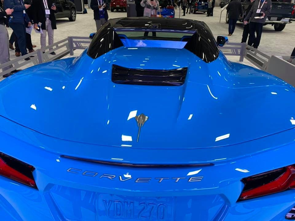 Rapid Blue 2020 Corvette Stingray Convertible