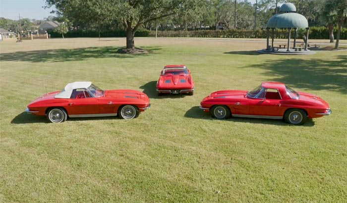 [VIDEO] Michael Brown Profiles a Fabulous Collection of Three 1963 Pilot Line Corvettes