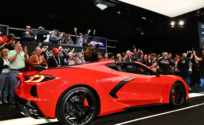 Rick Hendrick Paid $3 Million for the First C8 Corvette, Says He'll Never Drive It