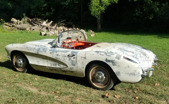 Corvettes on Craigslist: Numbers-Matching 1957 Corvette Needs Someone to Finish the Restoration
