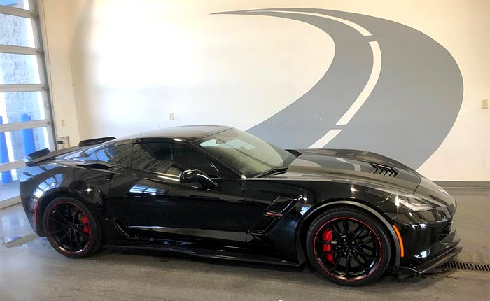 C7 Corvette Grand Sport with Z07 Package