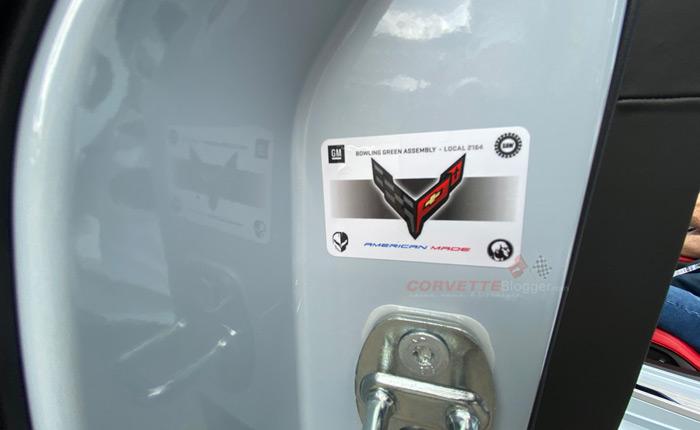[PIC] Iconic 'Zora Head' Logo Displayed on the 2020 Corvette