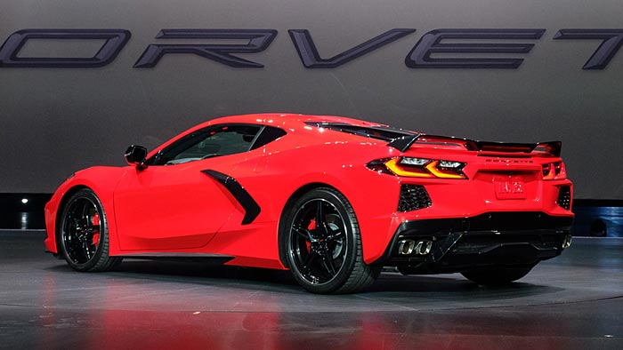 The 2020 Corvette Stingray Named to KBB's List of 2020 Vehicles with Best Resale Value