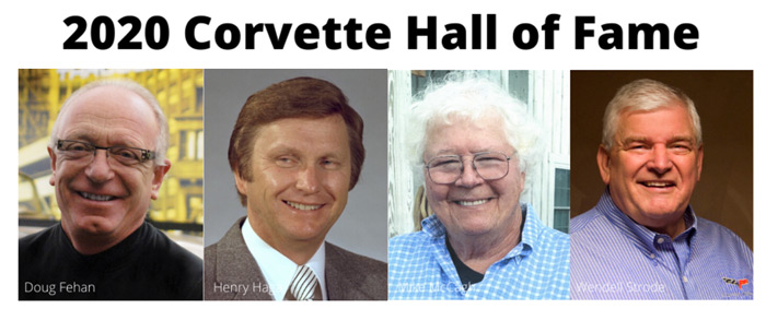 National Corvette Museum Announces 2020 Corvette Hall of Fame Inductees