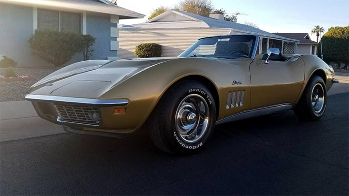 Corvettes on Craigslist: 1969 427 Convertible For Sale in Phoenix, AZ