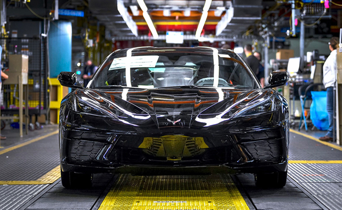 The 2020 Corvette Started Production One Year Ago Today