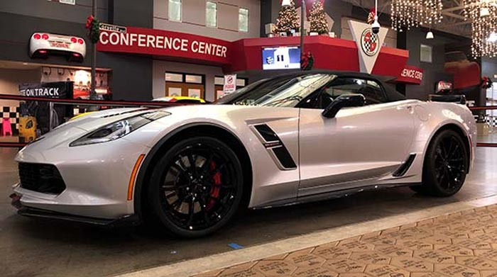 National Corvette Museum To Raffle the Final C7 Corvette Grand Sport