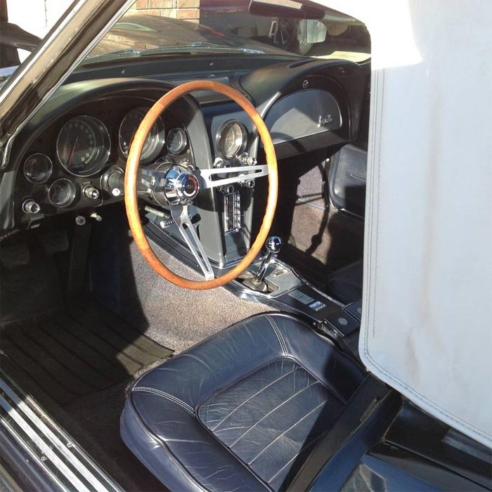 Corvettes on Craigslist: 1966 Corvette Convertible Pilot Car Wearing VIN 006