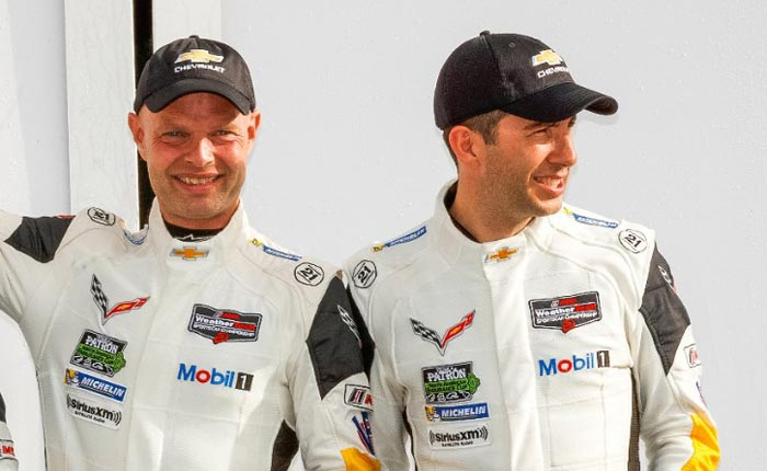 Magnussen and Rockenfeller to Drive the Corvette C8.R at COTA's Lone Star Le Mans