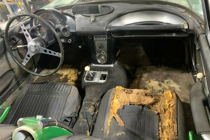 Corvettes on eBay: 1958 Corvette Fuelie Basement Find