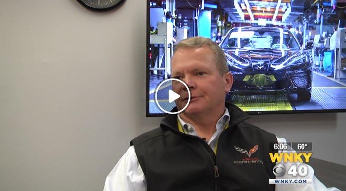 [VIDEO] Kai Spande Comments on the First 2020 Corvette Stingray Built