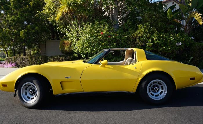 [STOLEN] Police Recover Bright Yellow 1979 Corvette Eight Hours After Reported Stolen