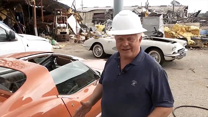 Houston Corvette Service Gets First Look at Corvettes Damaged in Massive Explosion