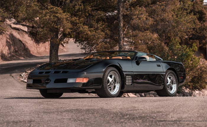 Corvettes For Sale: James Cameron's Callaway Speedster and its B2K Aerobody Companion
