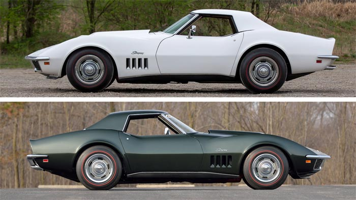 Mecum Offering a Pair of 1969 L88 Corvettes at Glendale Auction