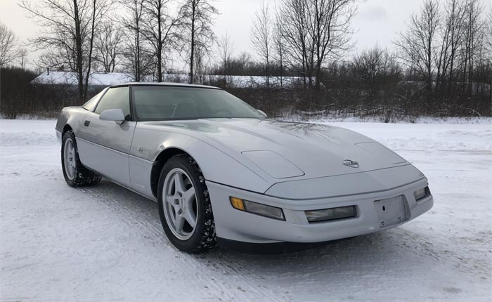 Corvettes for Sale: 1996 Corvette Collector Edition with an LT4 on Bring A Trailer