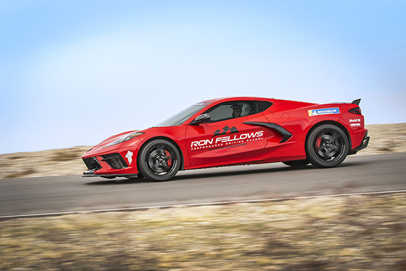 Official C8 Corvette Driving School at Spring Mountain To Start Classes this April