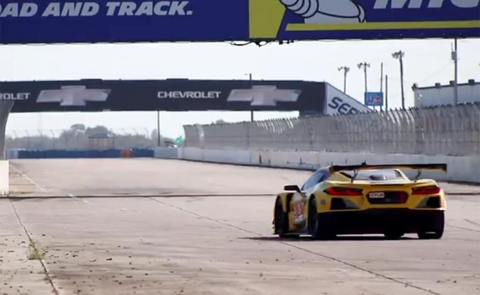 [VIDEO] C8.R Corvettes Testing at Sebring