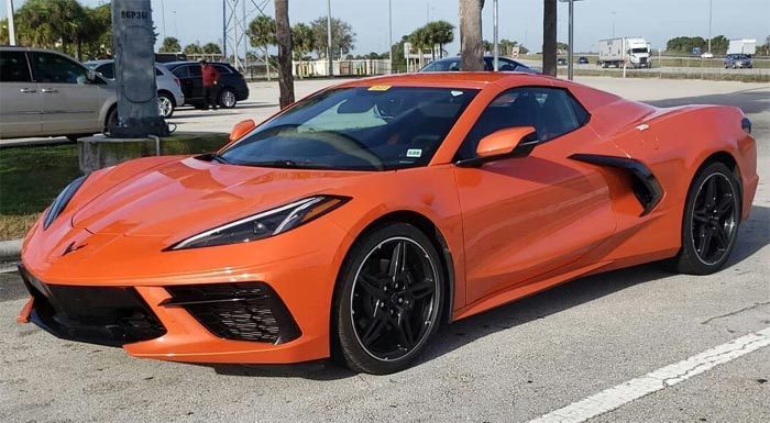 [PICS] 2020 Corvette Stingray Convertible with Body-Colored Nacelles