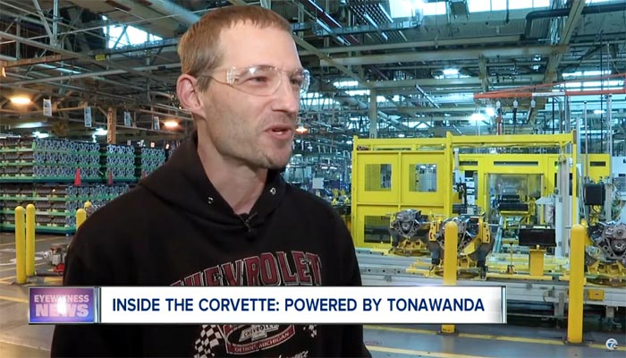 [VIDEO] Workers at Tonawanda Discuss the New LT2 V8 for the 2020 Corvette
