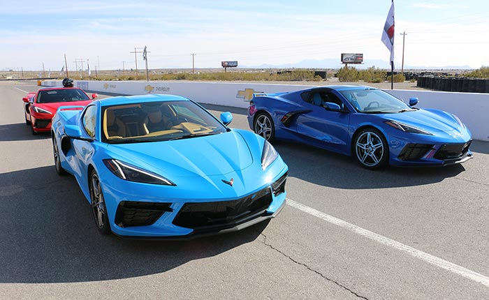 [VIDEO] Watch These Multiple C8 Corvettes Utilizing Launch Control