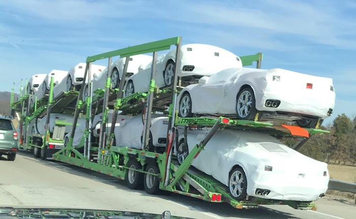 Track the Shipping of Your C8 Corvette On the Jack Cooper Transport Website