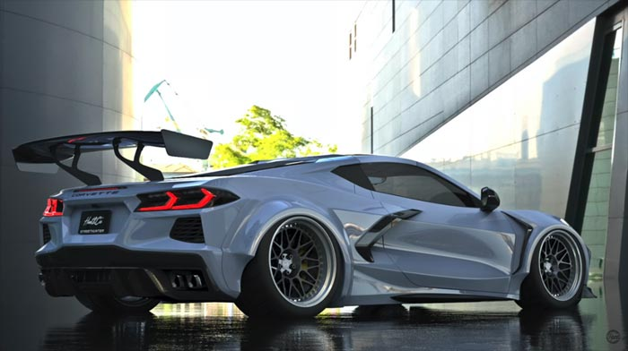 [VIDEO] StreetHunter USA Unveils Widebody Aftermarket Kit for the 2020 Corvette Stingray