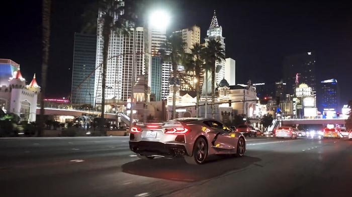 [VIDEO] The 2020 Corvette Stingray on the Road, at Spring Mountain, and On the Las Vegas Strip!