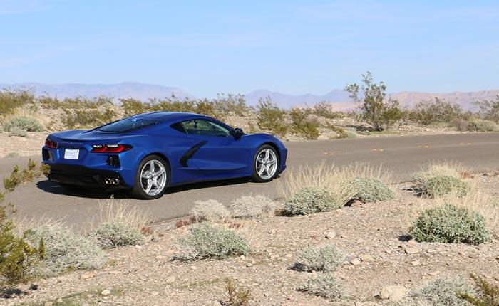 Driving the 2020 Corvette Stingray