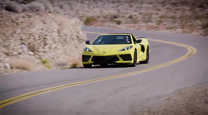 [VIDEO] Official GM Footage of the 2020 Corvette Stingrays Driving in Nevada