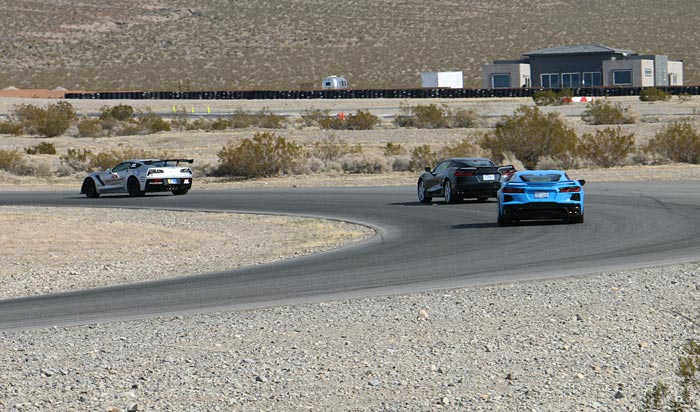 Track Testing the Z51 Coupe at Spring Mountain