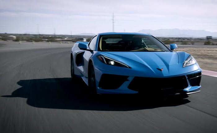 [VIDEO] Watch this GM Footage of the 2020 Corvette Stingray Z51 Coupes at Spring Mountain