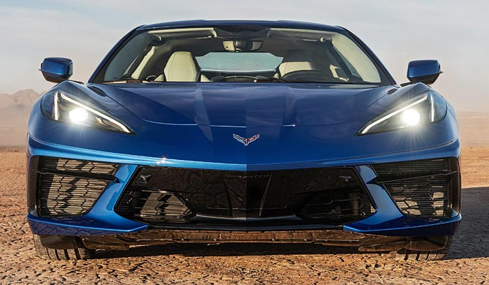 2020 Corvette Stingray HD Front Cameras